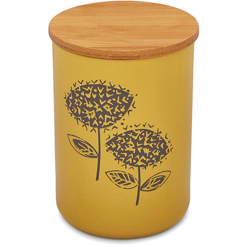 Ceramic Retro Meadow Canister