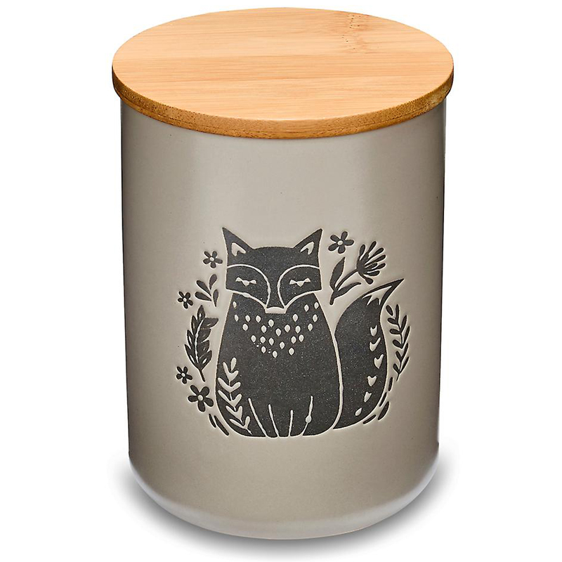 Ceramic Woodland Canister