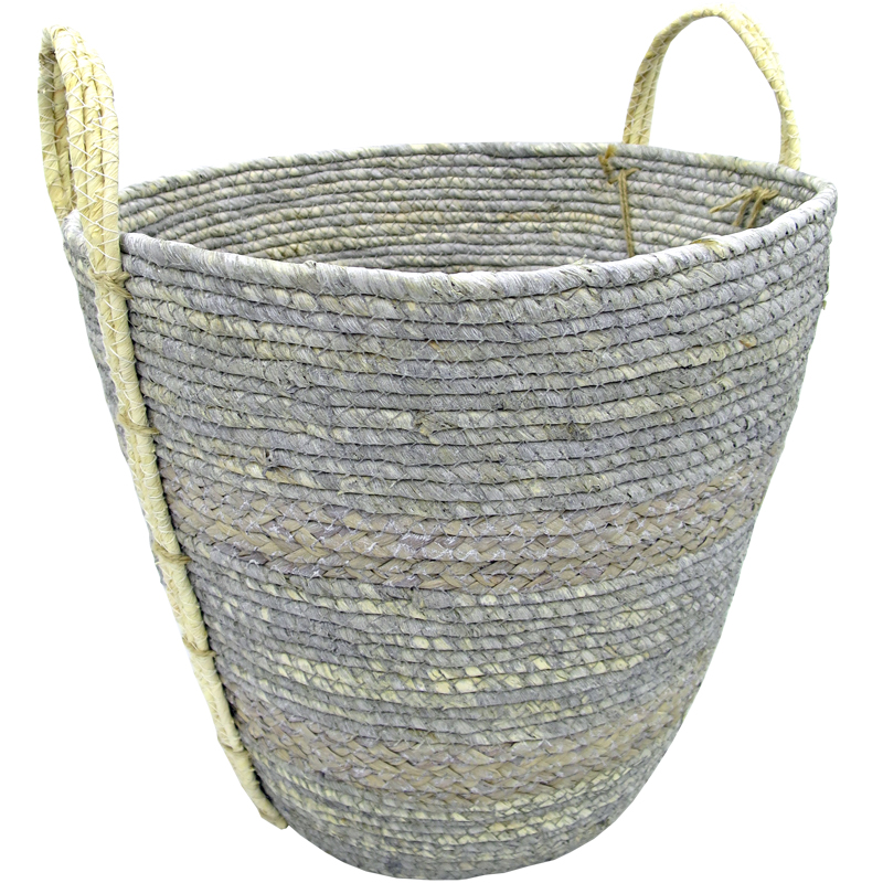 Seagrass Basket - Grey (S)