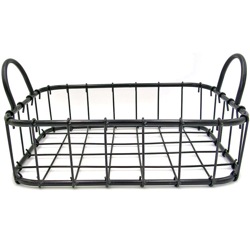 Metal Basket with Handles (S)