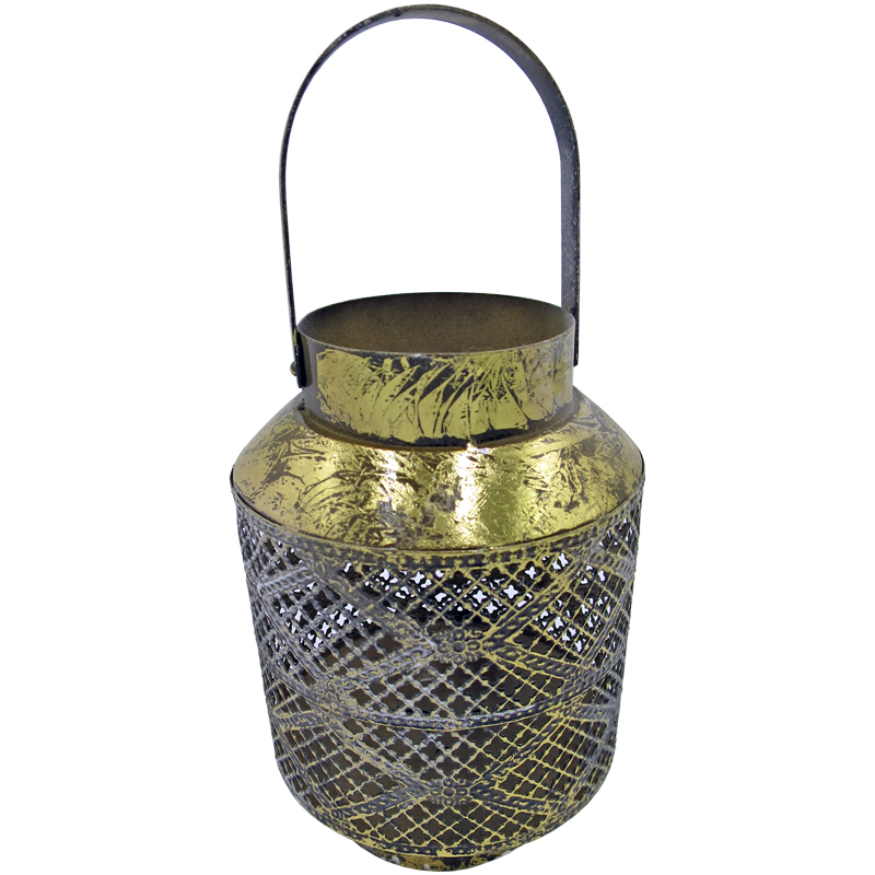 Vintage Metalen Lantaarn Marrakesh