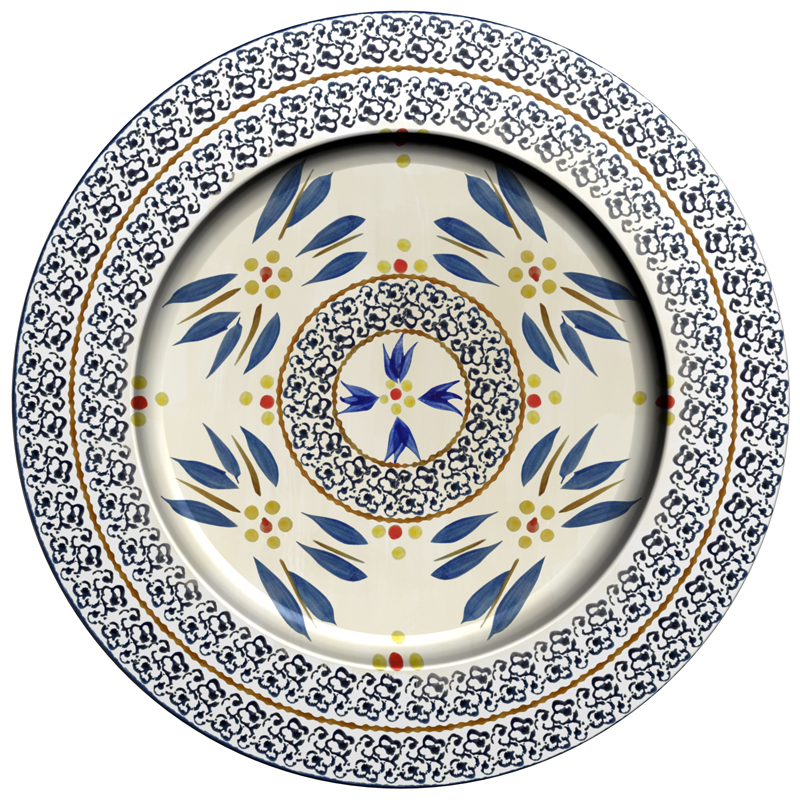 Charger Plate - Old World Blue (B)