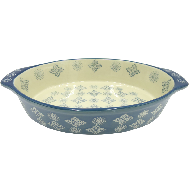 Ovenschaal Ovaal - Bohemian Light Blue