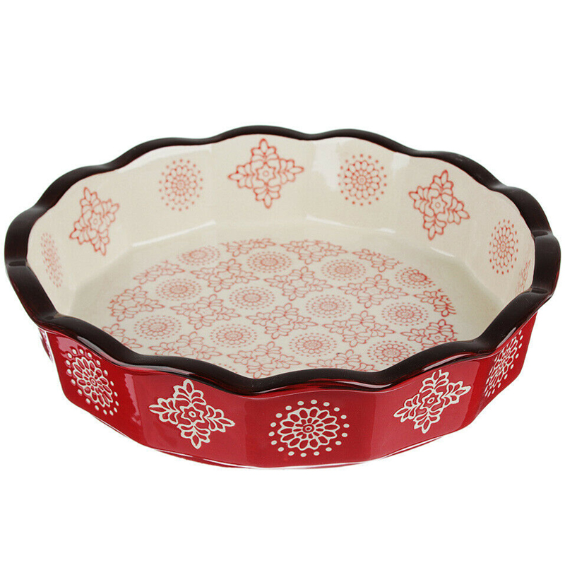 Pie Dish - Bohemian Red