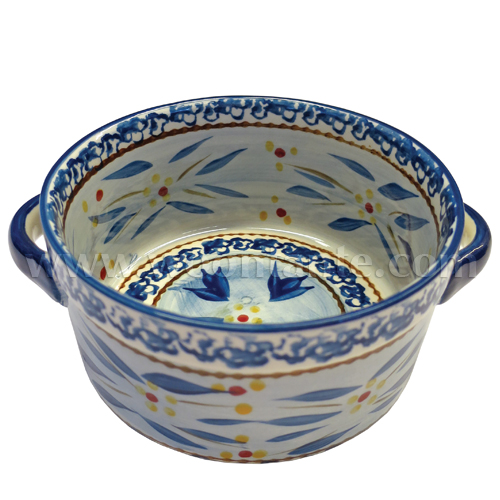Onion Soup Bowl - Old World Blue (S)