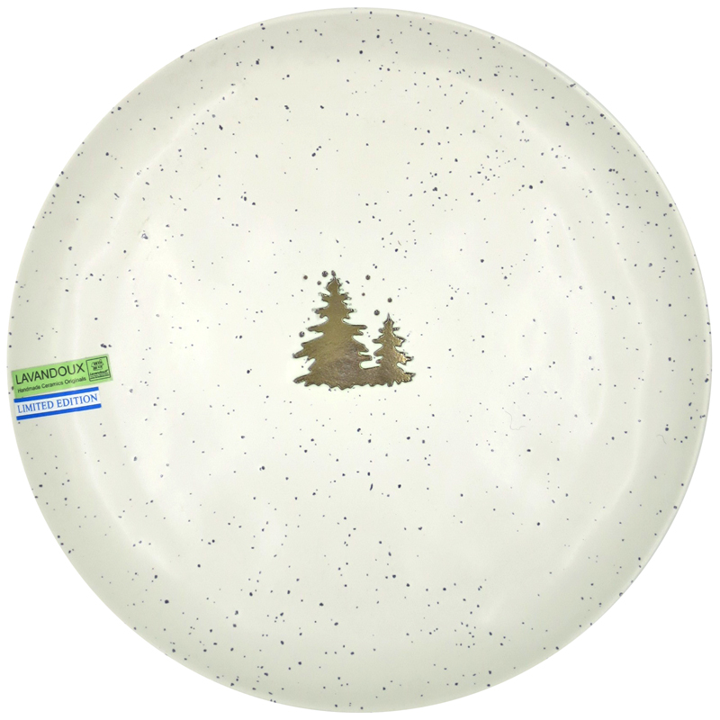 Winter Dinner Plate 26 cm - Off-White (2)