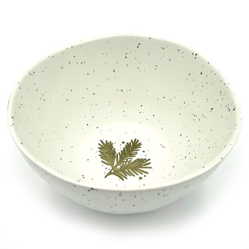 Winter Soup Bowl 15 cm - Off-White (2)