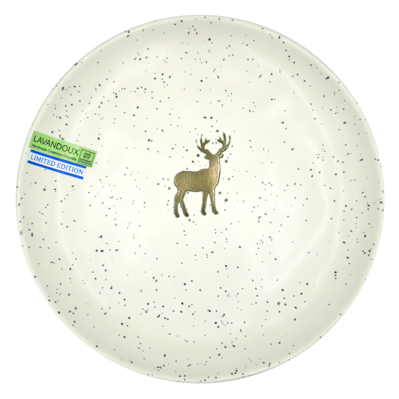Winter Side Plate 21 cm - Off-White (2)