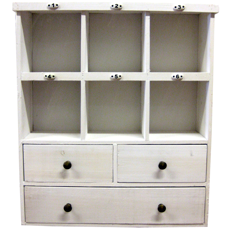 Cubby Shelf Wall Cabinet